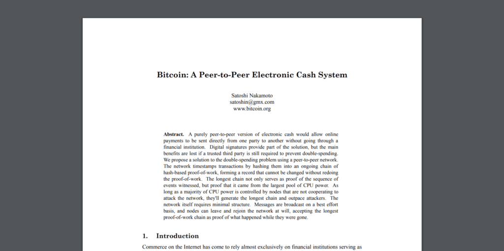 Bitcoin.org - Bitcoin White Paper: A Peer-to-Peer Electronic Cash System | What is Bitcoin